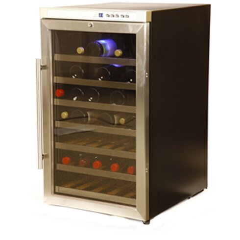 40 Bottle Single Zone Freestanding Wine Refrigerator