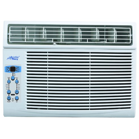 Arctic king window 12 000 btu window air conditioner with for 12000 btu window air conditioner room size