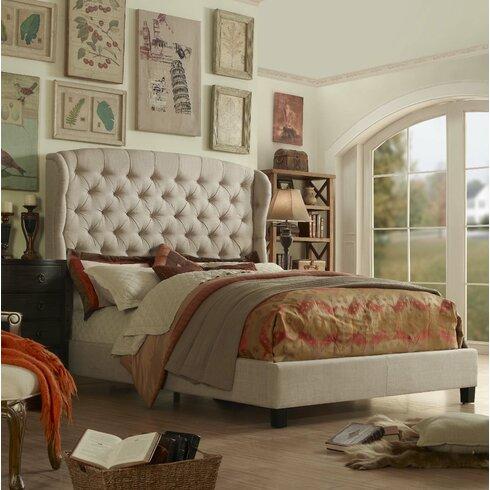 Mulhouse Furniture Felisa Upholstered Panel Bed & Reviews | Wayfair