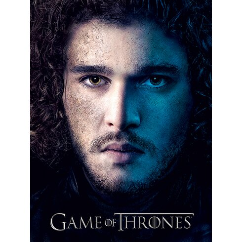 Game of Thrones Season 3 - Jon Vintage Advertisement Canvas Wall Art