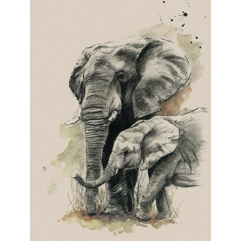 Proud by Sarah Stokes Canvas Wall Art