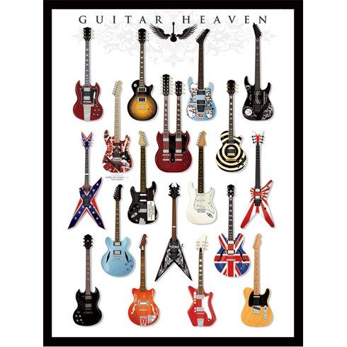 Guitar Heaven Canvas Wall Art