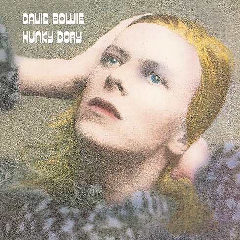 David Bowie - Hunky Dory Vintage Advertisement Canvas Wall Art