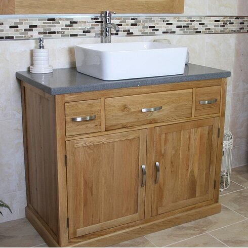Wheaton 100cm Vanity Unit With Tap and Storage Cabinet