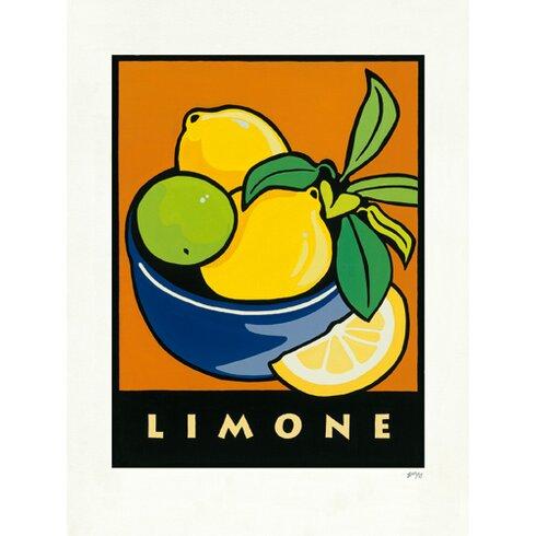 """Kunstdruck """"Limone"""" von Gabriela Fischer"""