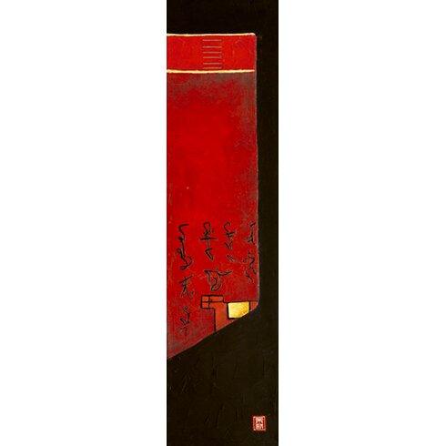 """Kunstdruck """"Triptyque asiatique III"""" von Diana Thiry"""