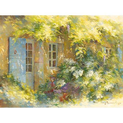 """Kunstdruck """"Le laurier blanc"""" von Johan Messely"""
