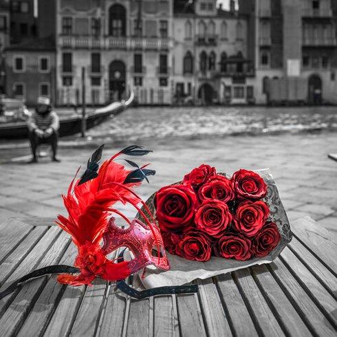"Acrylglasbild ""Venice I"" von Assaf Frank, Fotodruck"
