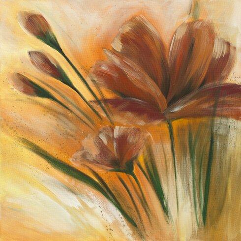 """Kunstdruck """"Fleur brune II"""" von Isabelle Zacher- Finet"""