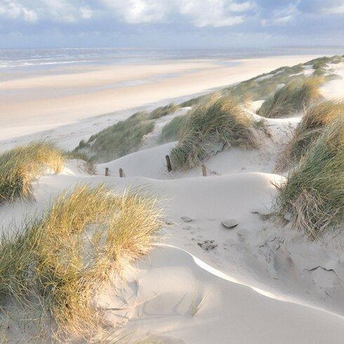 """Fotodruck """"Les dunes- pastel"""" von Georges- Félix Cohen"""