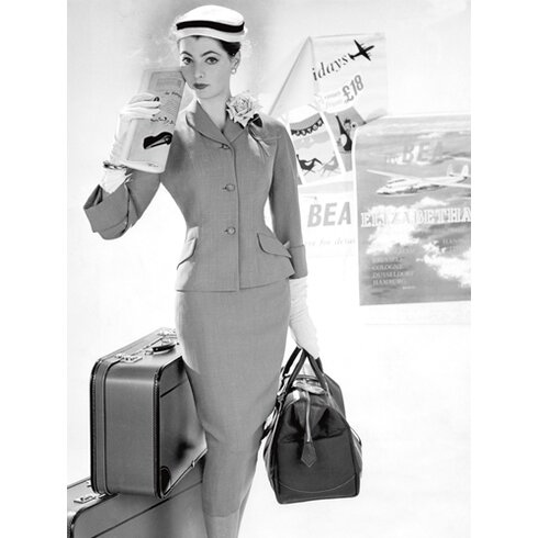 "Fotodruck ""Woman´s Fashion 1957"""