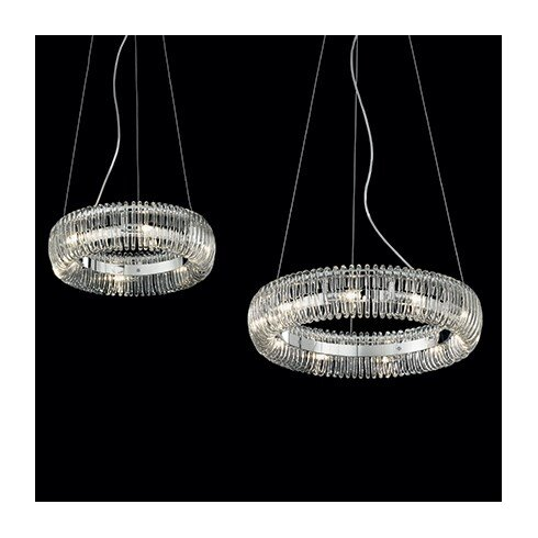 Quasar 6 Light Standard Pendant