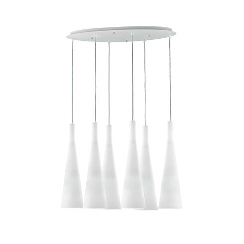 Milk 6 Light Kitchen Island Pendant
