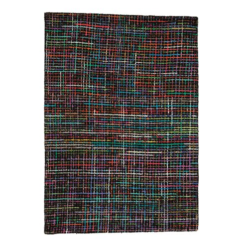 Necker Black Area Rug