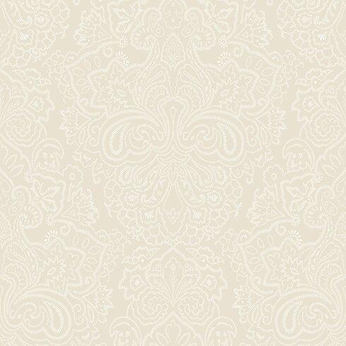 Tuileries 10m L x 52cm W Damask Roll Wallpaper