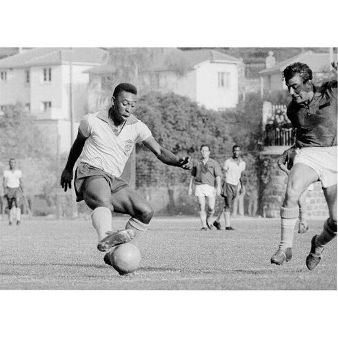 Shoot Pele 1962 Photographic Print