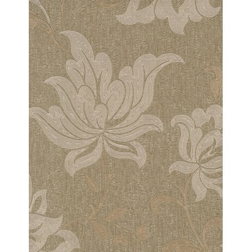 Opus 10m L x 53cm W Floral and Botanical Roll Wallpaper