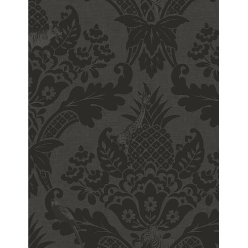 Bengal 10m L x 53cm W Damask Roll Wallpaper