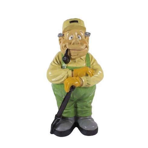 Nostalgia Gardener with Spade Garden Statue