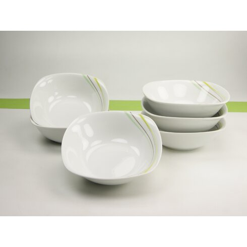 Amelie Neo Green Cereal Bowls