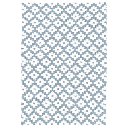 Samode Hand-Woven Light Blue/White Indoor/Outdoor Area Rug