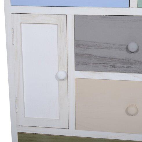 1 Door 5 Drawer Cabinet