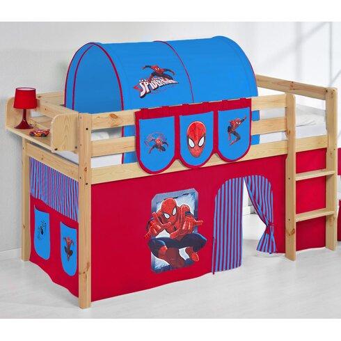 Jelle Spider-Man Mid Sleeper Bed
