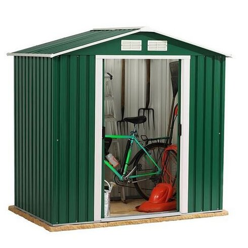 Parkside 6 x 4 Metal Storage Shed