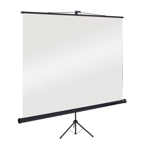 White Portable Projection Screen