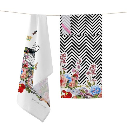 Hanging Garden 2-Piece Tea Towel Set