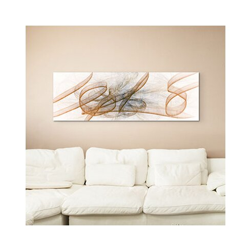 Enigma Panorama Abstrakt 1497 Framed Graphic Print on Canvas