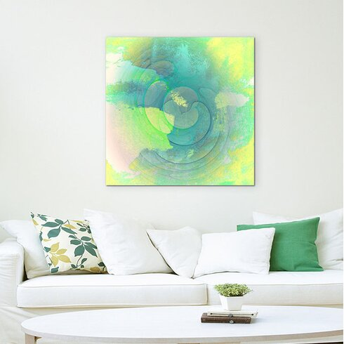 Enigma Abstrakt 1400 Framed Graphic Print on Canvas