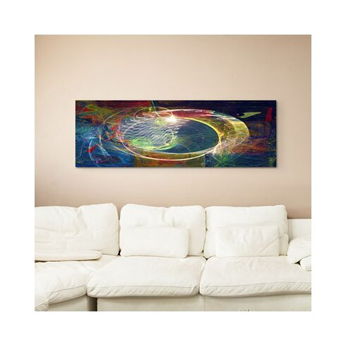 Enigma Panorama Abstrakt 1033 Framed Graphic Print on Canvas
