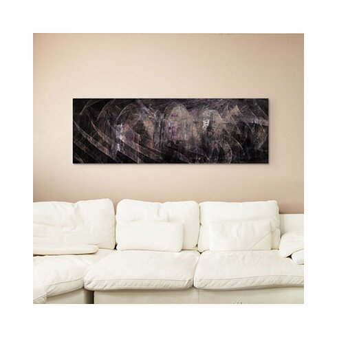 Enigma Panorama Abstrakt 1397 Framed Graphic Print on Canvas