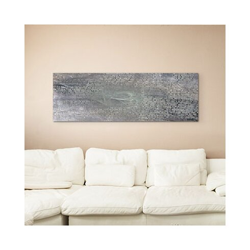 Enigma Panorama Abstrakt 1191 Framed Graphic Print on Canvas