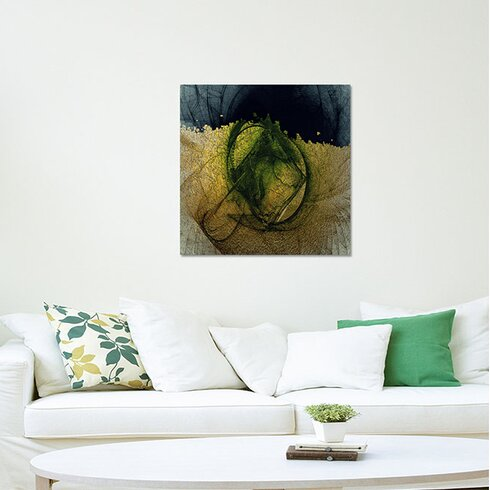 Abstract 080 Enigma Framed Graphic Print on Canvas
