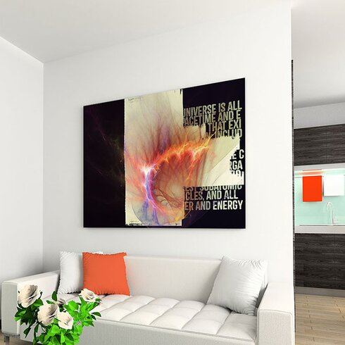 Enigma Abstract 175 Framed Graphic Art