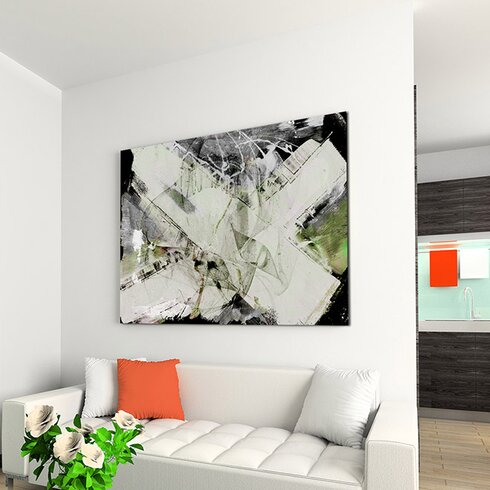 Enigma Abstract 739 Framed Graphic Art
