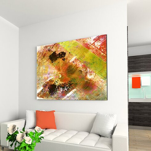 Enigma Abstract 948 Framed Graphic Art