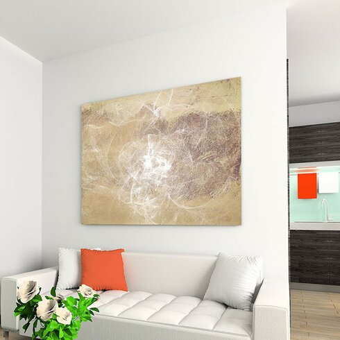 Abstract 162 Enigma Framed Graphic Print on Canvas