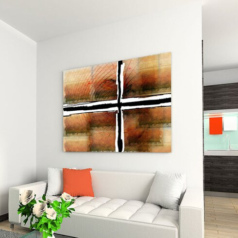 Enigma Abstrakt 265 Painting Print on Canvas
