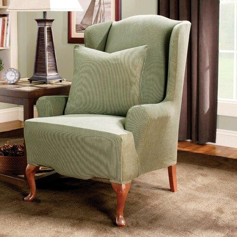Stretch Stripe Wingback Chair T