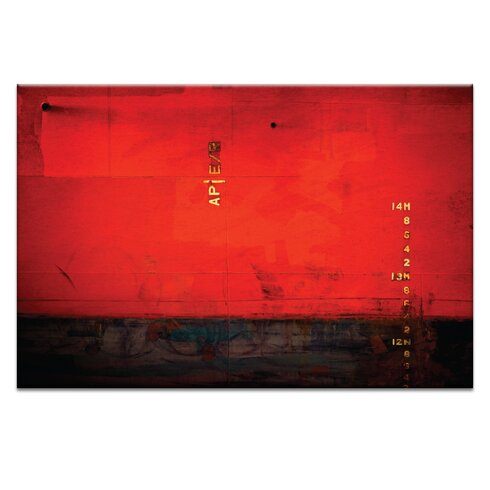 '14m Watermark' by Bente Andermahr Graphic Art Wrapped on Canvas