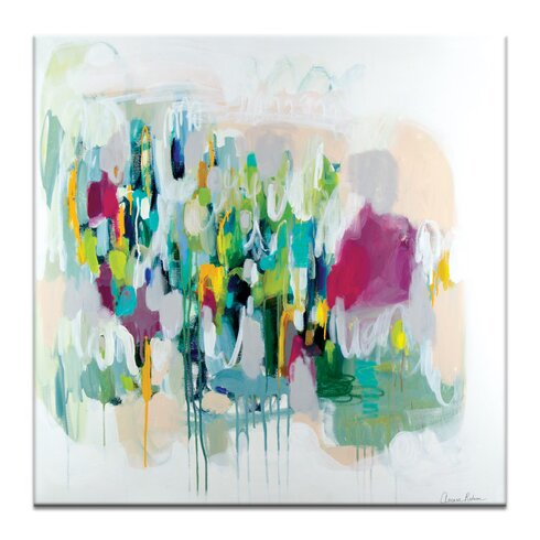 'Memphis' by Amira Rahim Art Print on Wrapped Canvas