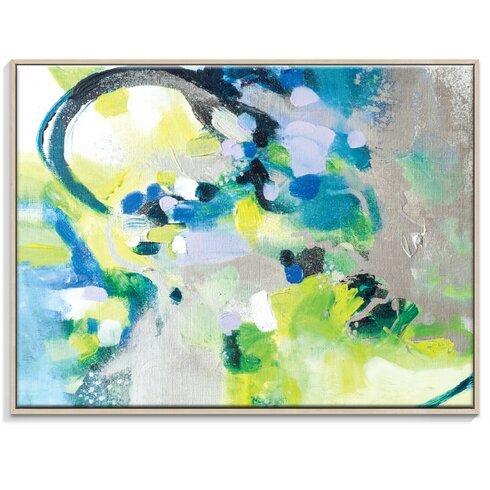 '61415' by Amanda Morie Framed Art Print on Wrapped Canvas