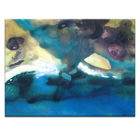 'Coast #2' by Katherine Boland Art Print on Wrapped Canvas