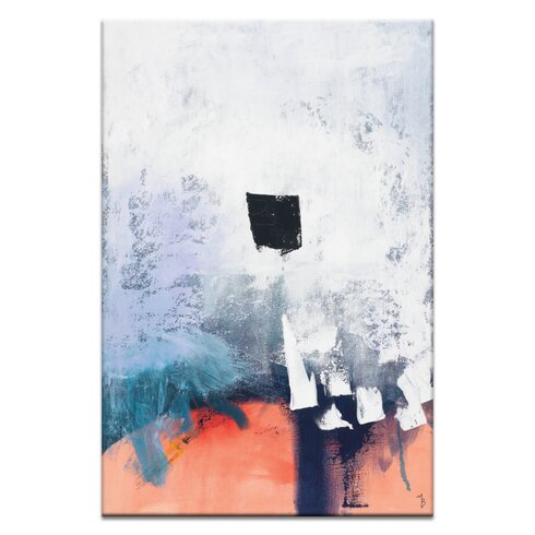 'Dot' by Mario Burgoa Art Print on Wrapped Canvas