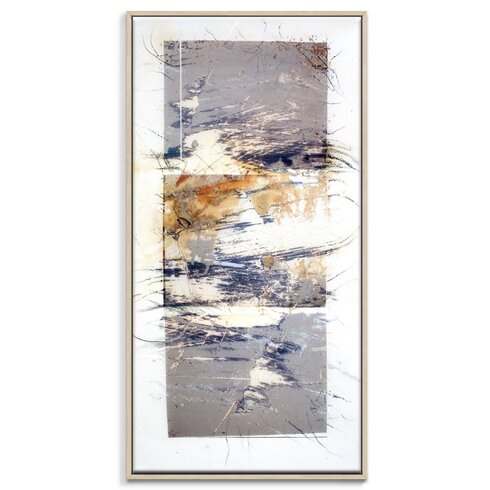'Paper Screen 5' by Gill Cohn Art Print Wrapped on Canvas