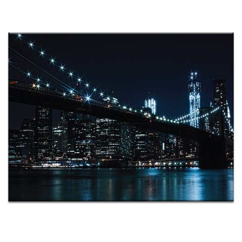'Brooklyn Nights' by Andrew Paranavitana Photographic Print on Wrapped Canvas