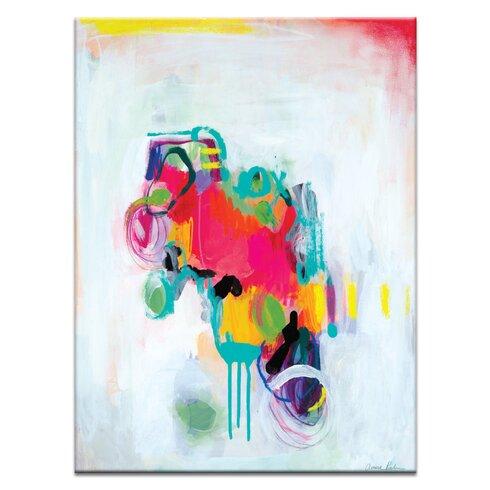 'Wabi Sabi Love' by Amira Rahim Art Print on Wrapped Canvas